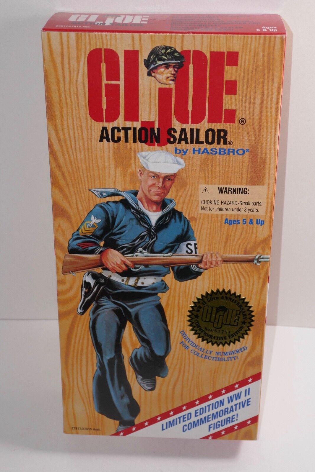 Hasbro 1995 G.I. Joe Action Sailor World War II Limited Edition 12  Figure