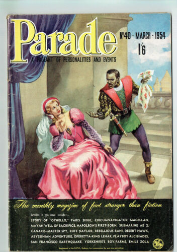 #RR. AUSTRALIAN PARADE MAGAZINE #40 MARCH 1954