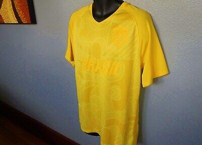 terremoto Interpretar Dar  NIKE SB BRASIL SKATEBOARDING Mens Jersey Shirt LARGE Olympic mens 827296  Brazil | eBay