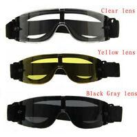 Usmc Airsoft X800 Tactical Protection Goggle Shooting Gx1000 Glasses Armed 3 Len