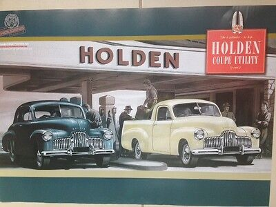 HOLDEN VINTAGE GTS CLASSICS & MONARO RACING CAR GENUINE POSTER- BIG-  BARGAIN