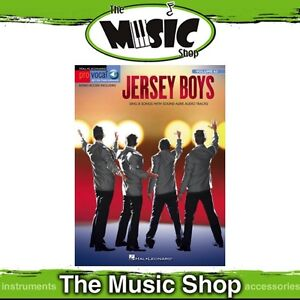New-Jersey-Boys-Pro-Vocal-Men-039-s-Edition-Book-amp-OLA-Volume-63-Four-Seasons
