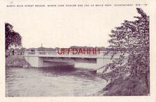 NORTH MAIN STREET BRIDGE, LAKE FOWLER AND LAC LA BELLE, OCONOMOWOC, WI