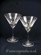 Retro Martini Cocktail Glasses
