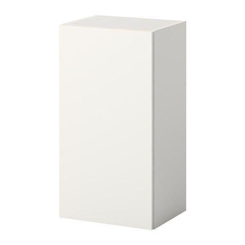 IKEA KNOXHULT Wandschrank mit Tür; in weiß; Küchenschrank 40x75cm