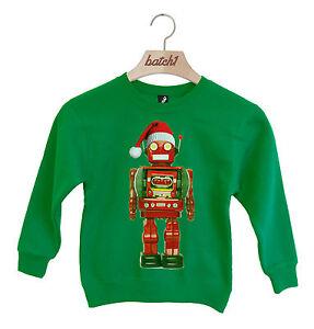 Caricamento dell immagine in corso batch1-Natale-giocattolo-robot-con-babbo- natale-cappello- 9bbedae31aca