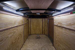 Enclosed Pull Behind Trailer Led Interior Accant Courtesy Lighting Led Light Ebay