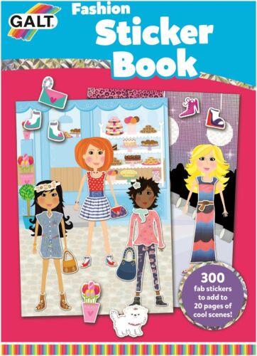 Galt Moda Libro de Pegatinas Niños Art Craft Juguete BN