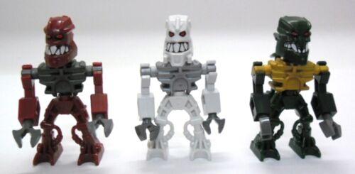 Zaktan 8894 Hakann LEGO Bionicle Piraka 3 Mini-Figuren Thok