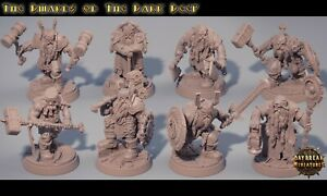 DWARF-warband-Banda-de-enanos-Mordheim-warhammer-DnD-Rol-Fantasy-Skirmish