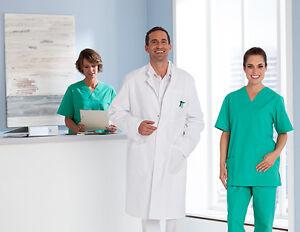 Exner bata de laboratorio laboratorio bata abrigo herrenkittel la ropa de médico 100% algodón  </span>