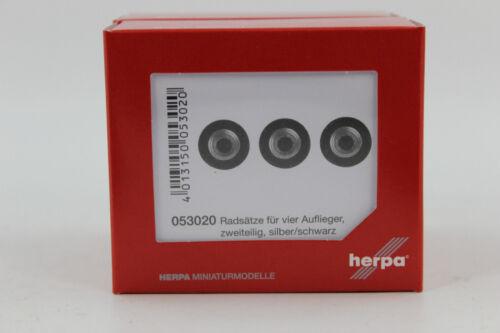 Herpa 053020 Radsätze für 4 Auflieger 1:87 H0 NEU in OVP