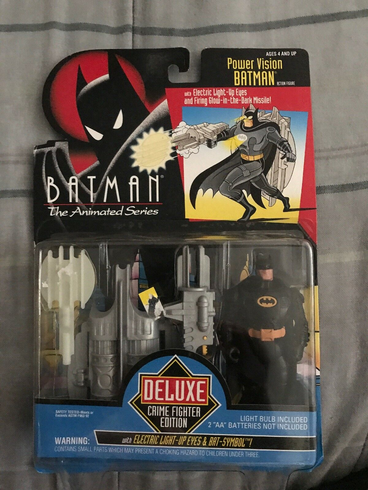 Batman the Animated Series Deluxe Crime Fighter Edition Power Vision Batman