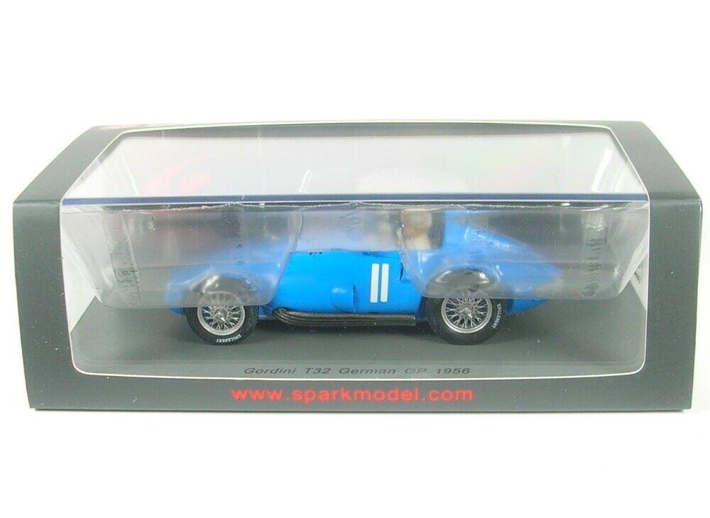 tienda en linea Gordini t32 nº 11 German German German gp formula 1 1956 (andre Milhoux)  alta calidad