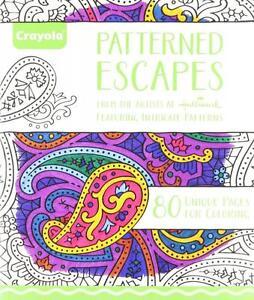 Detalles De Crayola 99 2022 0 000 Libro Para Colorear Con Dibujos Escapes Para Envejecido Hasta Adultos Nuevo Ver Título Original
