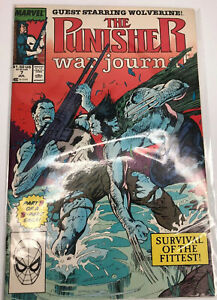 Punisher-War-Journal-7-Meets-VS-Wolverine-for-the-1st-time-Classic-Cover-1989