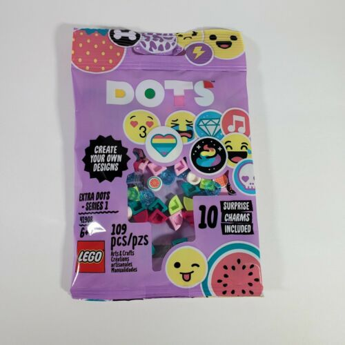 LEGO DOTS Extra Dots Set Series 1 41908 with 10 Surprise Charms!