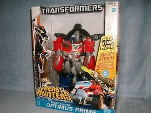 Transformateurs d'assaut Dragon Optimus Prime 13.5   Beast Hunters Optimus Prime Dragon Assault Transformers 13.5