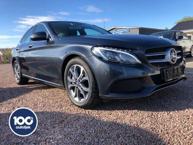 Mercedes C250 2,0 aut. Benzin aut. Automatgear modelår