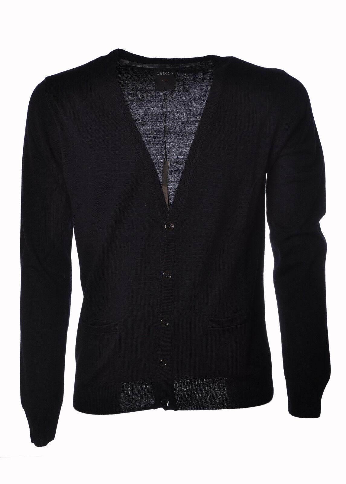 Retois - Knitwear-Cardigan - Man - Blau - 3860031C184018