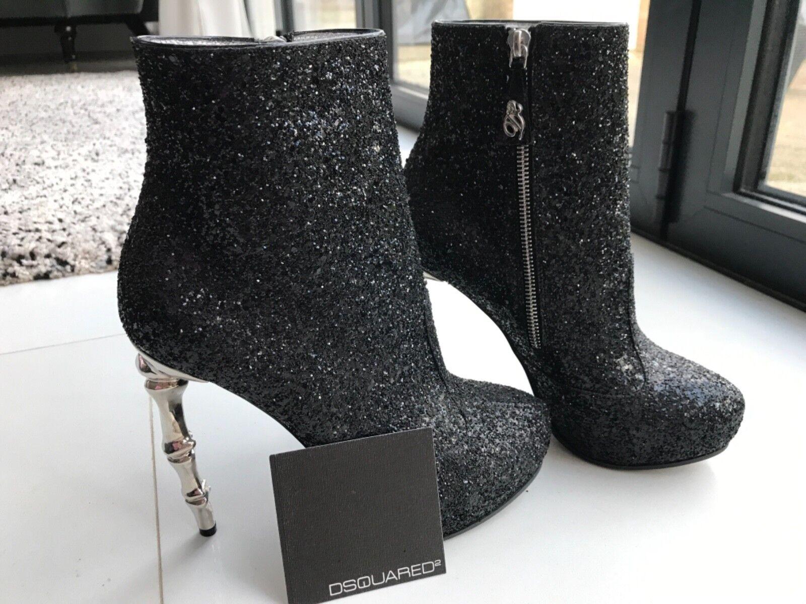 Dsquarosso2 High heel glitter avvio Dimensione 38  5