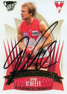 Signed-2005-SYDNEY-SWANS-AFL-Premiers-Card-RYAN-O-039-KEEFE
