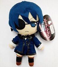 Anime Black Butler Kuroshitsuji Ciel Phantomhive Plush Toy Doll