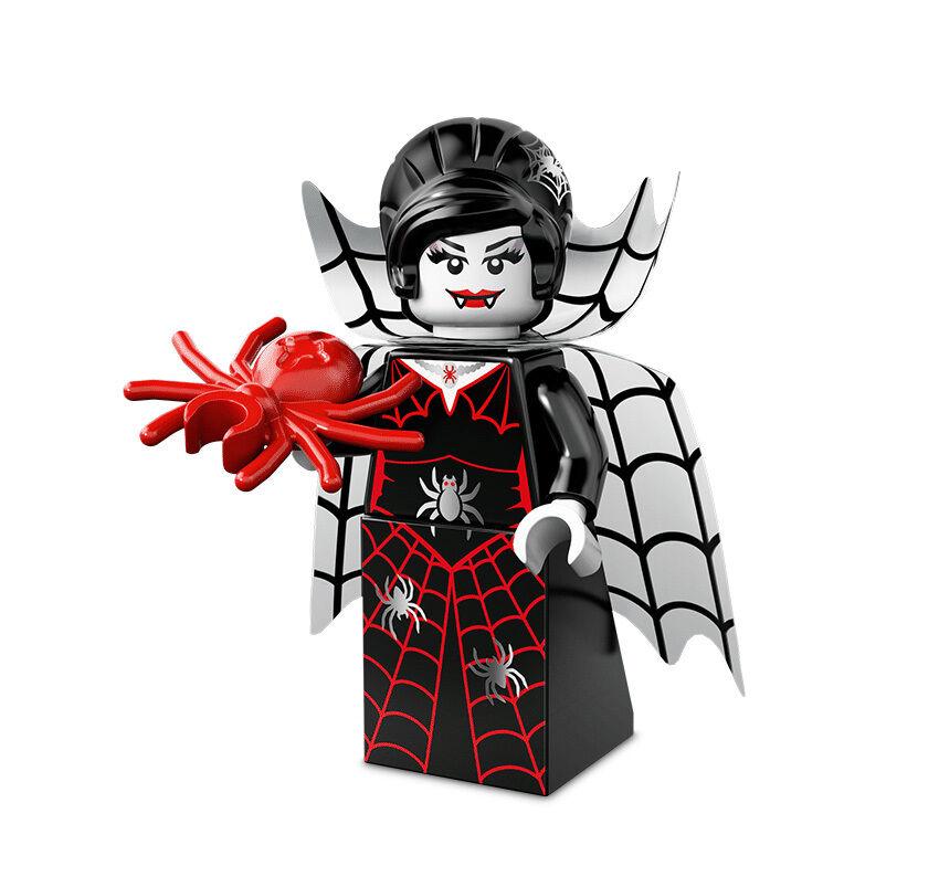 Lego 71010 Minifigures Minifig série 14 Monsters - La femme araignée | Moins Coûteux