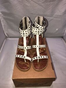 9966704c8 Image is loading Sam-Edelman-Gladiator-sandal-size-10-m-us-