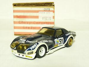 Remember-1-43-1974-Chevrolet-Corvette-ZL1-Le-Mans-White-Metal-Handmade-Model-Car