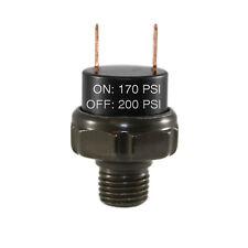170 200psi Air Pressure Switch Tank Mount Thread 14 Npt 12v24v For Train Horn