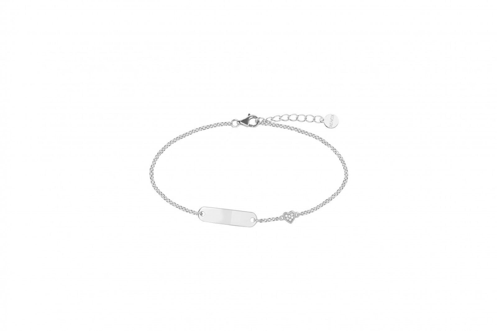 XENOX bracelet d'enfants Brassards de gravure En silver Sterling 925