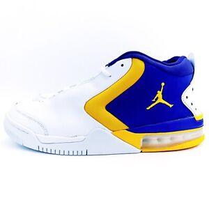 New-Air-Jordan-Big-Fund-Lakers-Basketball-Sneakers-BV6273-105-Mens-Size-10-5