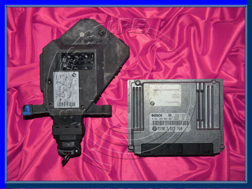 BMW 7/'es E65 E66 3.5i 4.5i N62 Engine ECU SET DME CAS//ZAS START//STOP BUTTON KEY