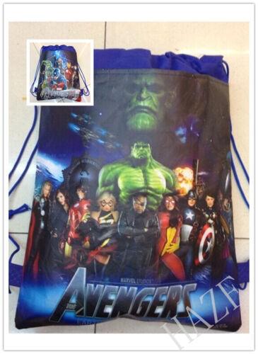 Avengers Backpack Swimming Clothes Environmental Toy Kid/'s Drawstring Bag UK