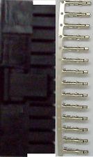 ATX 24Pin Male Power Connector Housing Black & 25 Female Pins