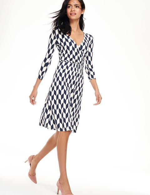 NEW BODEN ELENA FIXED WRAP WH886 DRESS - SIZE US 10