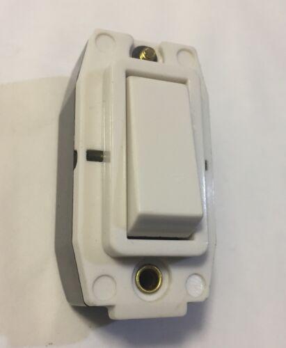 Crabtree 5A 2 vías de luz 250V rockergrid Rejilla Interruptor AC sólo 2530 Blanco