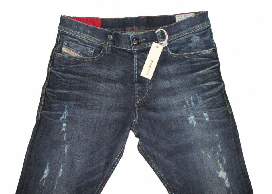 DIESEL TEPPHAR 0844T SLIM CARred JEANS W31 L34 100% AUTHENTIC