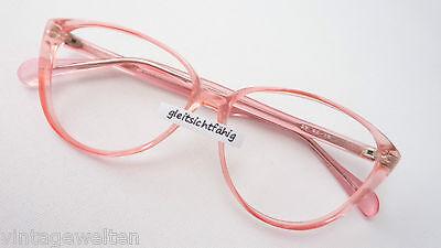 Gutherzig Mädchenhafte Fassung Katzenauge Große Glasform Brille Ohne Gläser Grösse M