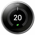 Nest 3rd Generation Learning Thermostat - Stainless Steel