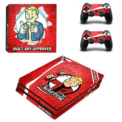 Video Game Accessories Dependable Fallout Vinyl Decal Skin Sticker For Sony Playstation 4 Pro Console Attractive And Durable Video Games & Consoles