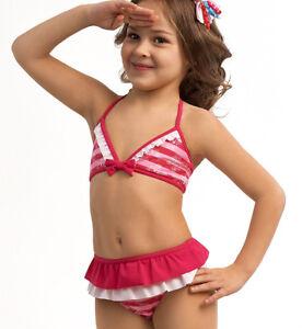 ESLI Bademode Kinder Bikini Set für Mädchen 98-104, 110-116, 122-128