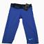 M L New Nike DRI-FIT Girls Victory Capri Leggings Size S XL Blue Black