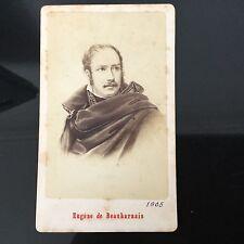 PHOTO CDV ANCIENNE Eugène De Beauharnais 1880 PHOTOGRAPHE Neurdein XIXè