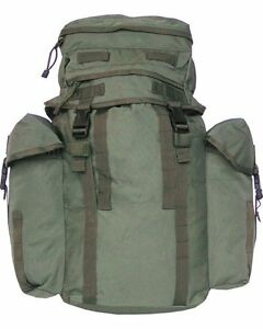 British-Army-Northern-Island-Military-US-Patrol-Assault-Pack-Rucksack-Green-38L