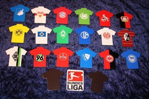 Das Bundesliga Logo als Magnet Magnetpin Pin Pins