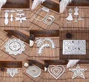 Metall-Stencils-DIY-Cutting-Dies-Set-Scrapbooking-Karte-Tagebuch-Stanzschablone