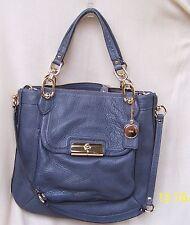 NEW RARE COACH 18278 KRISTIN GRAY GREY Leather Satchel Bag Purse -NO RESERVE