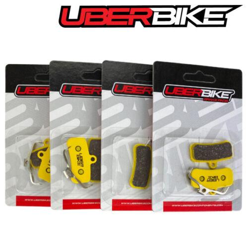 Uberbike Shimano MT-520 N03A N04C H01A H03C 4 Piston Sintered Disc Brake Pads